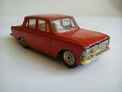 Extremely Rare Soviet Moskvich 412 A1- 71 Metal Diecast Original Toy Car 1975.