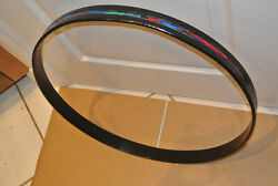 1 Owner 1969 Ludwig Usa 22 Psychedelic Red Bass Drum Hoop For Drum Set F862