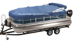 New Sun Tracker Mooring Cover For 2016 Fishinand039 Barge 22 Pontoon Blue