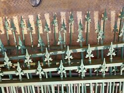 Vintage Metal Fencing And Double Gate
