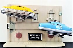 Hcg The Fifth Element Flying Cars Diorama Statue Figure Set Taxi Cab Police Rare