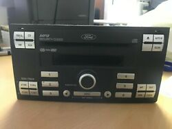 Ford Bs69-18c939-bd Mp3 Security Coded Cd R-d-s Eon Stereo With 6 Cd Changer