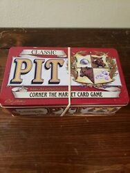 Classic Pit Corner The Market Card Game Hasbro Sealed Cards Collectible Tin Box