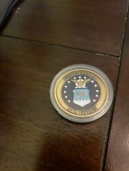 United States Air Force Global Vigilance Challenge Coin 352f. Military Coins