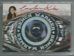2014 Benchwarmer Hot For Teacher Candace Kita Class Ring Red Autograph Auto 1/1