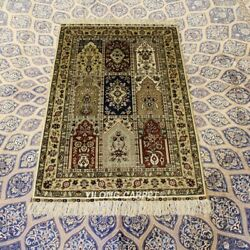 Yilong 2.5and039x4and039 300 Lines Four Seasons Area Rugs Hand Knotted Silk Carpets 267h