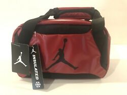 Jumpman Jordan Insulated Tote Red and Black Lunch Bag $24.99