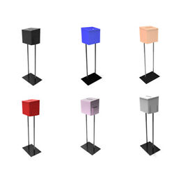 Metal Ballot Box With Stand Fundraising Box Floorstand Donation Box Suggestion