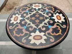 24 X24 Marble Beautiful Coffee Table Top Inlay Interior Home And Bedroom Decor