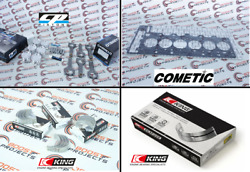 Cp 84mm 10.2 Cr Piston And Carr Rod Kit - Gasket - Bearing Kit For Bmw N54b30