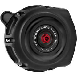 Performance Machine Air Cleaner Vintage Throttle By Wire Black Ops 0206-2131-smb
