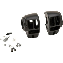 Drag Specialties Matte Black Radio Switch Housing For And03908 - And03913 | H07-0782mb