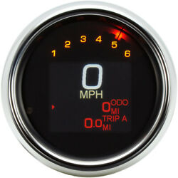 Dakota Digital Tank Speedometer - Chrome Bezel - 4.5 | Mlx-3000