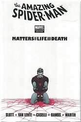 Spiderman Matters Of Life And Death Premiere Edition Hc New Sealed Oop