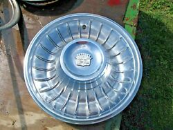 Cadillac Fleetwood/deville 1961-1962 Hubcaps-nice Condition-reduced 100