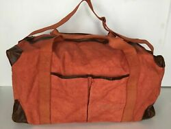 Pottery Barn Union Canvas Weekender Large Bag Red Sold Out At Pottery Barn