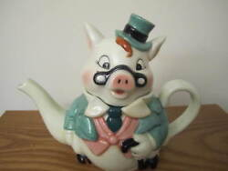 Dept 56 Cookies From The Cookie Formal Irish Pig Porcelain Teapot