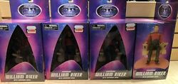 Star Trek Dst Exclusive William Riker In Command Chair Mib Damaged Box New Force
