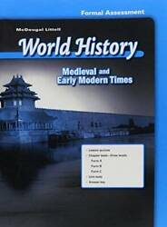 Mcdougal Littell World History Medieval And Early Modern Times, For - Very Good