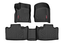 Rough Country Hd Floor Mats [f/r] Fits 13-20 Jeep Grcherokee Wk2 W/factory Post