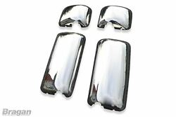 Mirror Covers For Daf Cf 65 75 85 Pre 07 Truck Accessory Stainless Steel 4pc Set