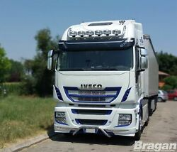 Roof Bar + Leds + Spot Lights For Iveco Stralis Cube + Hi-way Active Space Time