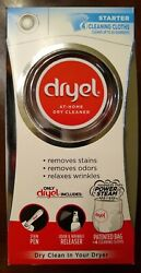 Dryel At Home Dry Cleaner Cleaning 4 Loads 20 Items Laundry Starter Kit NEW