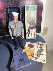 Early 1960andrsquos Vintage 12 Gi Joe Action Sailor Complete Excellent Mib Baby Feet