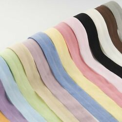 10 Meters 20mm Elastic Rubber Band Fold Over For Underwear Bra Soft Trim Sewing $4.49