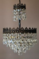 Antique Vintage Crystal Chandelier Home Interior Lighting French Lighting Lamp