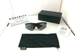 Oakley Sunglasses M2 FRAME XL POLISHED BLACK BLACK IRIDIUM POLARIZED OO9343 09 $93.99