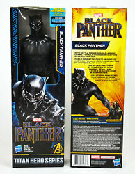MARVEL Black Panther 12quot; Action Figure Titan Hero Series *New*