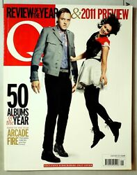 Q Magazine No.294 January 2011 Mbox3022/b 50 Albums Of The Year - Arcade Fire
