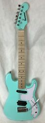 Stratocaster Style Short Scale Surf Guitar Surf Blue