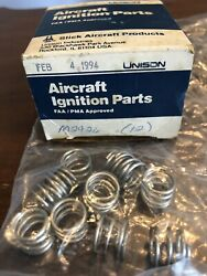 Unison Aircraft Ignition Parts Pn M2926 Spring Nos Sealed In Box 12 Total