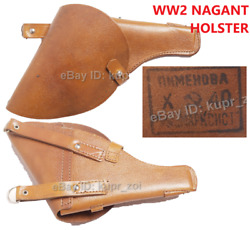 1940 Holster Nagant Cavalry Soviet Red Army Ww2 Rkka Perfect Condition