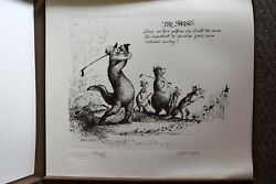 Marc Davis Eight Rules Of Gulf Limited Edition Serigraph Folio In Box