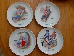 Lot Of 13 Norman Rockwell Figurines And Plates