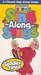 Sing-along-songs Toddler Tunes Vhs 2002 Cedarmont Kids 25 Songs