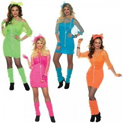 Totally 80s Costume Halloween Fancy Dress