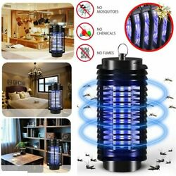 1/2pk Electric Uv Mosquito Killer Lamp Outdoor/indoor Fly Bug Insect Zapper Trap