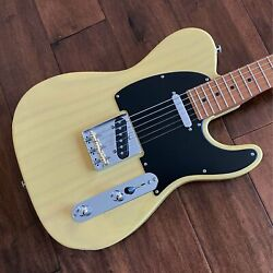 Suhr 2020 Limited Edition Classic T Paulownia Trans Vintage Yellow Electric Guit