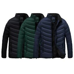 The Whole Shebang Coat Menand039s Quilt Puffer Jacket With Faux Fur Lining