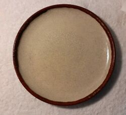Pier 1 Crackle Collection 12 3/8 Charger Chop Plate Platter Discontinued.