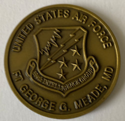 Nsa Nat'l Security Agency Usaf 694th Intel Group Ft George G. Meade Md
