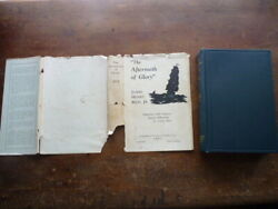 The Aftermath Of Glory James Henry Rice Jr. 1934 First Edition Dust Jacket