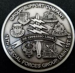 Us Army 19th Sfg A 19th Special Forces Group Airborne Group Support Battalio