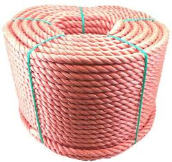 Red Polypropylene Rope Poly Rope Coils Cheap Rope - Select Length And Diameter