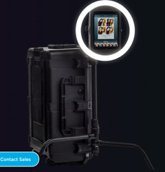 Halo Photobooth With Light Ring And Ipad Pro - Reduced Price