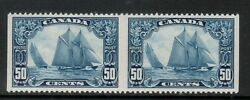 Canada 158b Extra Fine Never Hinged Imperf Pair With Certificate